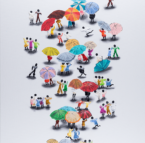 Vertical Umbrellas