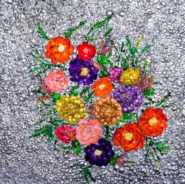 Bouquet on Egg Shells